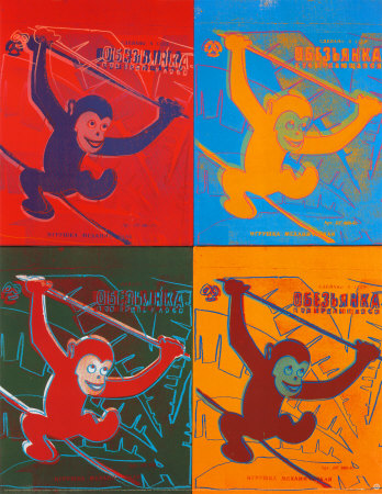 four-monkeys-andy-warhol
