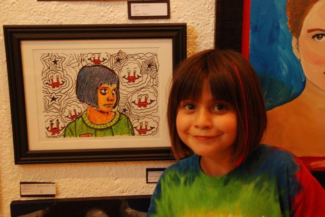 Lou's art show