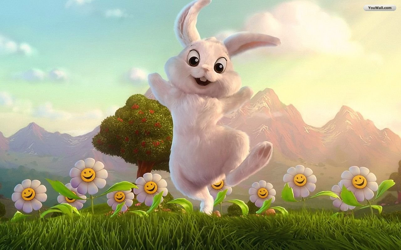 Funny-Rabbit-Happy-Easter-Wallpapers
